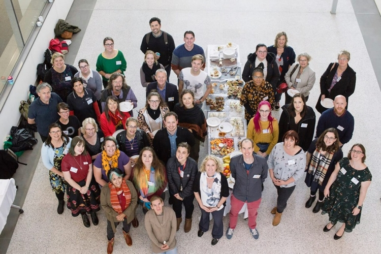 Attendees at Communicate to Inspire conference 2019. Photo by Pete Wheeler courtesy of Australian Science Communicators WA.