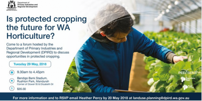Is protected cropping the future for WA horticulture?