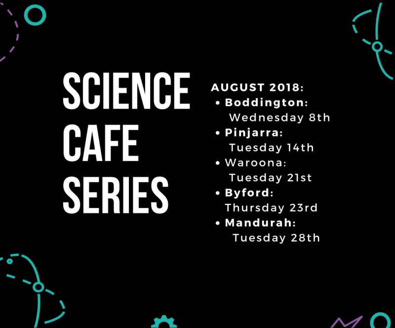 Science Cafe Series by Peel Bright Minds