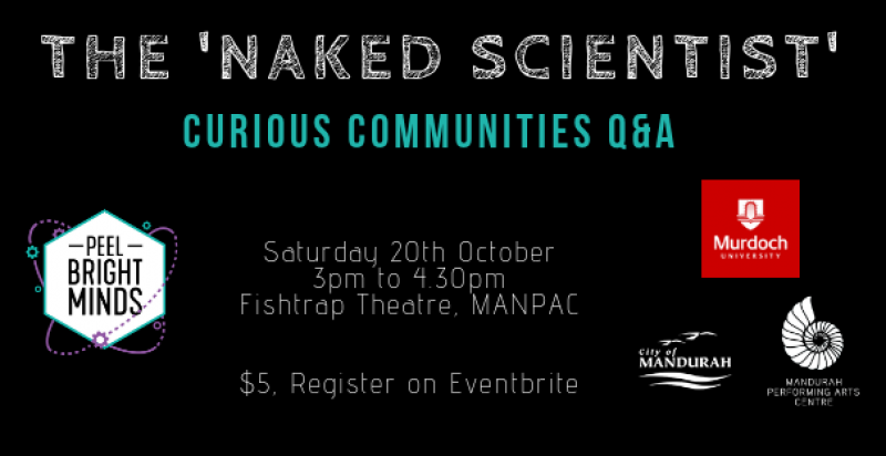 The Naked Scientist: Curious Communities Q&A