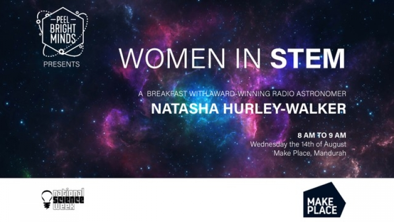 Women in STEM Breakfast with Dr Natasha Hurley-Walker